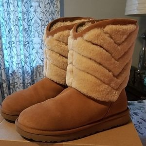 UGG Shearling Fur trimmedTania Boot